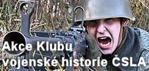 Akce Klubu vojenské historie ČSLA